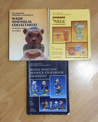 2 X Charlton Wade & 1 X Royal Doulton Catalogues • 15£