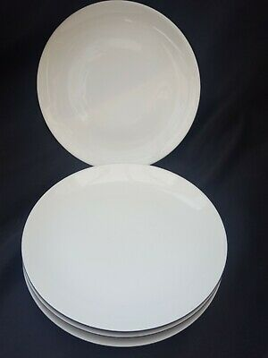 Raymond Loewy Rosenthal Continental Charcoal 6  Side Plates X 4 + 1 Spare • 59£