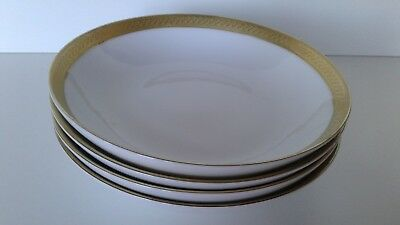 4 X BOOTS IMPERIAL GOLD 18.5cm  DESSERT BOWLS   • 40£