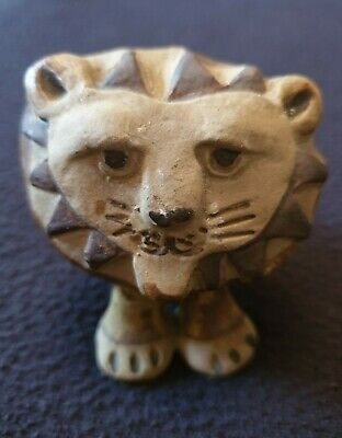 Tremar Pottery Lion Figure. Lovely Character • 25£