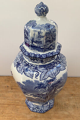 Masons Ironstone Vase With Lid • 10£