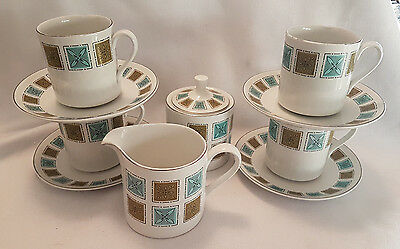 VINTAGE RETRO MYOTT  Tea / Coffee Party Set  • 14£