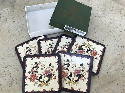 Mason's Ironstone Mandalay 6 Coasters Excellent Condition And Boxed • 5£