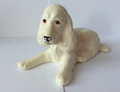 Donegal Parian China Dog • 10£