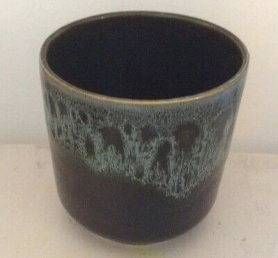 Fosters Pottery Honeycomb Green Small Vase Or Pot • 8£