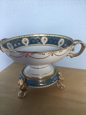 Noritake Porcelain Fruit Bowl On Stand • 145£