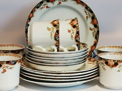 18 Pieces Of Tableware Bone China  By Sutherland  • 25.99£