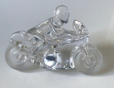 Daum Crystal Motorbike 'Circuit' Designed By Xavier Froissart • 150£
