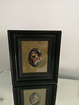 KPM Berlin German Porcelain Hand Painted Plaque Of Madonna And Child • 695£