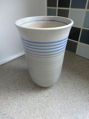 Vintage Art Deco Gray's Pottery Vase Hand Painted • 14.99£