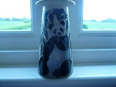 Sally Tuffin Dennis Chinaworks Panda Conical Vase No. 8 • 175£