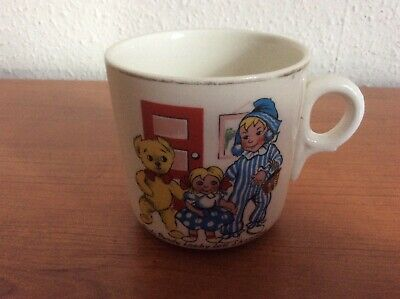 Vintage 1950's Andy Pandy Keele Street Pottery Cup RARE No Damage • 3.91£