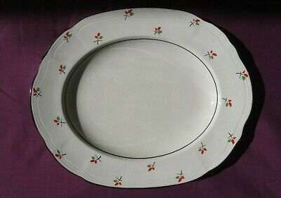 Oval Plate Made By J.Fryer & Sons 12-1/2  • 7.25£