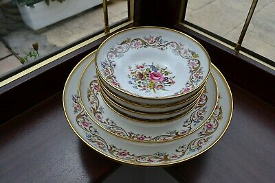 Set Of 6 Royal Worcester Bournemouth Footed Bowls • 39.95£
