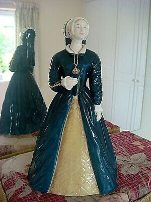 Coalport Figurine-katherine Howard-the Royal Collection-made In England • 25£