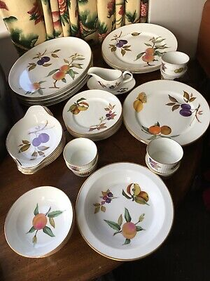 Royal Worcester Evesham Dinner Set Replacements Items Start At £2 See Info     • 4£