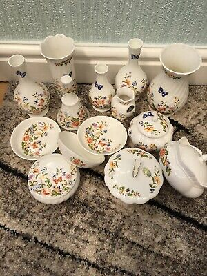 Aynsley China - Cottage Garden - 18 Pieces Varying Sizes /sorts All Exc Cond • 25£