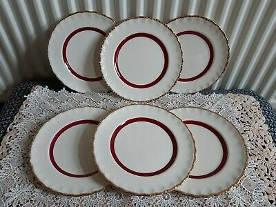 6 X Grindley Creampetal 7 Inch Side Plates • 50£