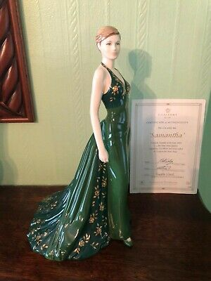 Compton And Woodhouse Coalport Samantha Figurine Of The Year 2003 • 20£