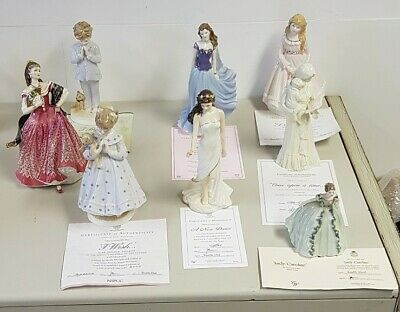 Royal Worcester Collection 8 X Figurines • 88£