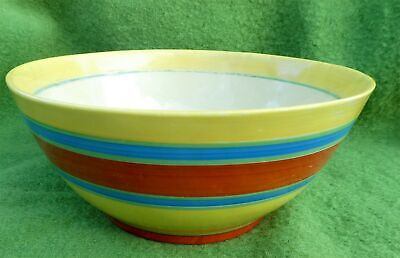 Art Deco Clarice Cliff Bizarre Liberty Banded Bowl With Liberty's Backstamp • 22£