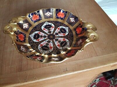 Royal Crown Derby Imari 1128 Solid Gold Band Duchess Dish XXXIX 1976 In Ex Con • 84.99£