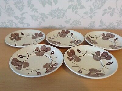 J & G Meakin Maidstone Hanley England   Whispering  . 5 Replacement Saucers • 2.99£