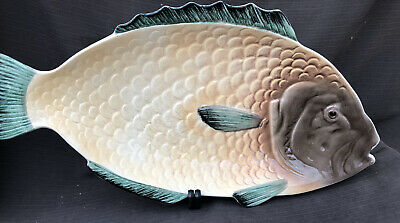 Vintage Shorter  And Son Very Large Fish Platter 50 X 26 Cm • 9.99£