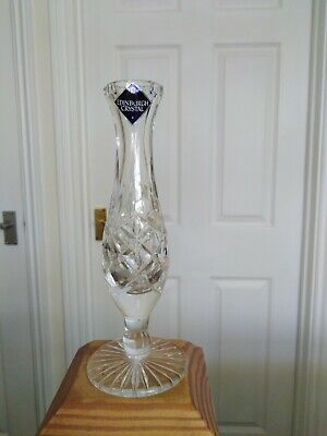 'edinburgh Crystal' Glass Bud Vase • 2.99£