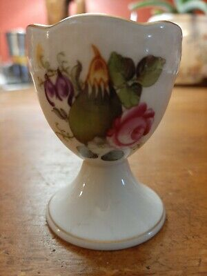 Antique Herend Porcelain China Green Plum Egg Cup Ex Condition  • 25£