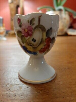 Antique Herend Porcelain China Pear Egg Cup Ex Condition  • 35£