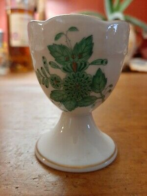 Antique Herend Porcelain China Chinese Bouquet Egg Cup Ex Condition  • 26£