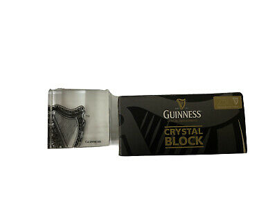 Guiness Crystal Block • 20£