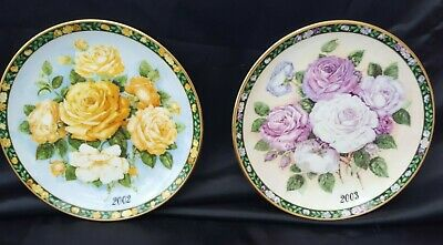 Royal Albert The Language Of Roses  Gift Of Prosperity & Friendship  Plate X 2 • 10£