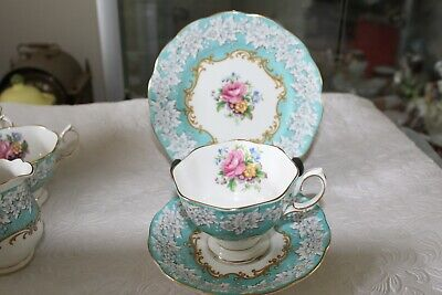 Royal Albert Enchantment Trio ( Cup, Saucer And Plate) • 25£