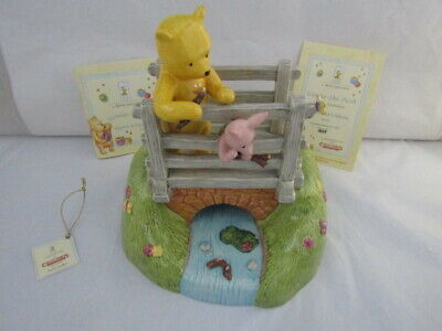 Royal Doulton Pooh Sticks Tableau Collectables Limited Edition Wp 84 Disney • 125£