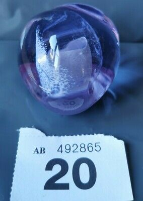 Caithness Scotland Collectable Glass Paperweight Ex Condition Bs2 • 9.99£