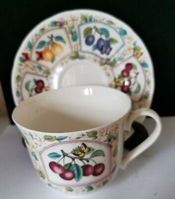 Roy Kirkham  Prunas Large Cup And Saucer  Perfect Condition  Bs3 • 19.99£