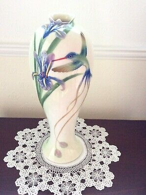 Franz Hummingbird Large Vase FZ 00127 Height 14 Inches Approximately • 69.99£