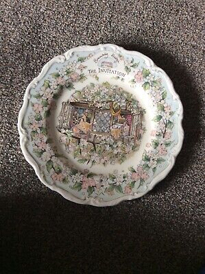 Royal Doulton Brambly Hedge Set Of 4 Plates • 100£