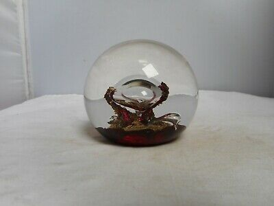 1981 SELKIRK GLASS PAPERWEIGHT(6.5cms High) • 4.99£