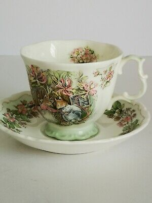 "Royal Doulton Brambley Hedge ""Summer"" Teacup & Saucer - Full Size • 19.99£"