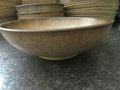 Denby Romany Tableware Stoneware 17cm Soup / Cereal Bowl • 6£