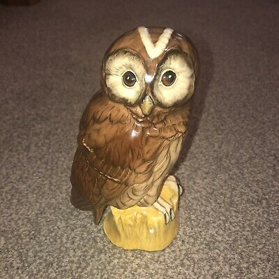 Royal Doulton Tawny Owl Whyte And Mackay Figurine 1984 • 11£