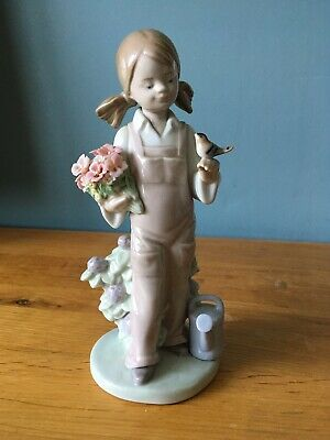 lladro Retired Spring Girl #5217 Perfect Condition • 15£
