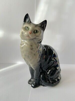 Beswick Model 1030 Cat Seated Looking Up • 50£