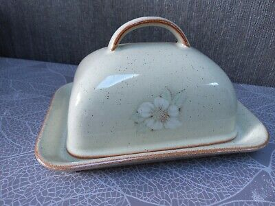 DENBY 'Daybreak' Butter Dish And Lid  Excellent Condition No Scratches Or Marks • 12£