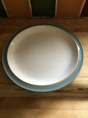 Denby Colonial Blue Lunch Salad Plate Approx 22.5cm Diameter 5 Avail • 7.99£