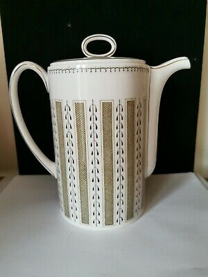 Susie Cooper Coffee Pot  Persia  Pattern Perfect Condition Bs5 • 29.99£