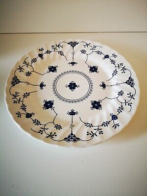 "1 X CHURCHILL Blue FINLANDIA Dinner Plate 10"" Diameter FURNIVALS JOHNSON BROS • 10£"